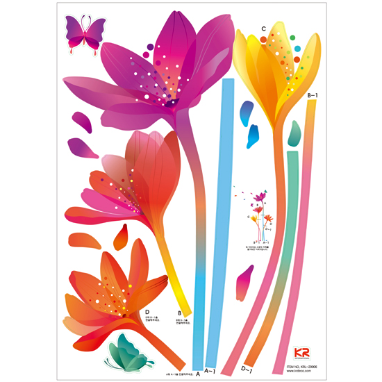 Colorful Lily