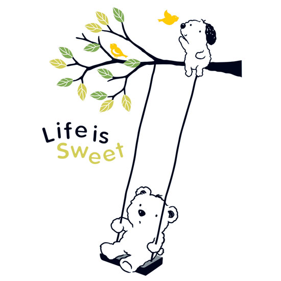 Life is Sweet (2 sheets)