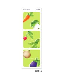 Tiles-Vegetable (6 pcs)
