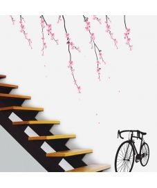 Cherry Blossom & Bicycle