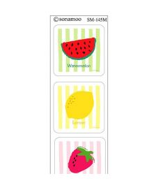 Tiles-Fruits 2 (6 pcs)