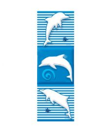 Tiles-Dolphin (6 pcs)