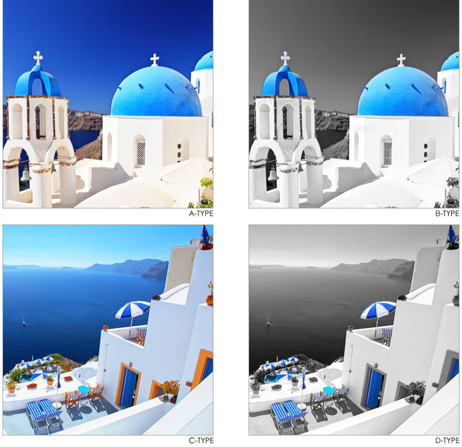 Santorini Blue 3