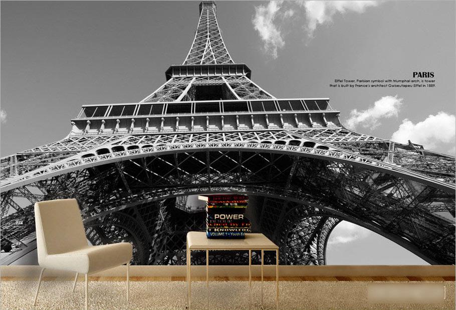 Eiffel tower for Eiffel tower mural