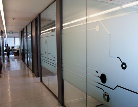 Customise Frosted Glass Sticker